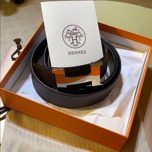 Hermès 38 mm men's belt